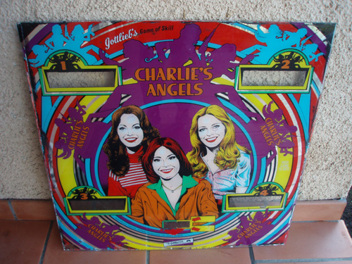 Plaque Flipper Drôles de Dames- Charlie's'Angels